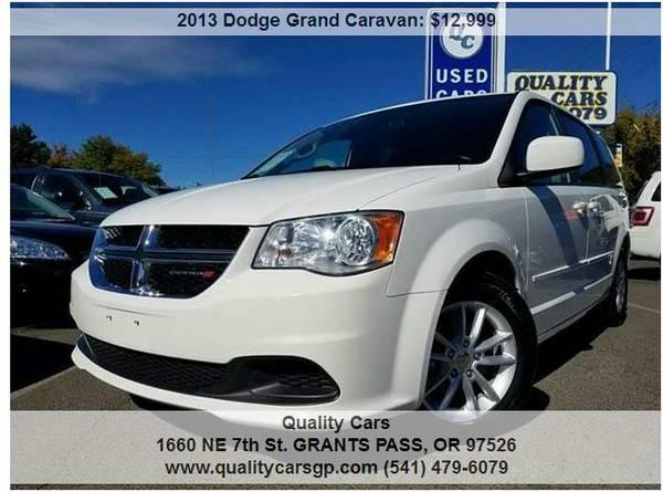 2013 Dodge Gr. Caravan *3RD ROW/REAR AC/REAR TV, PWR SLIDERS/LFTGATE*