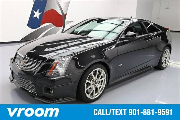 2012 Cadillac CTS-V V 2dr Coupe Coupe 7 DAY RETURN / 3000 CARS IN STOC