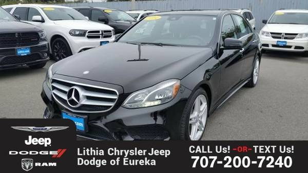 2014 Mercedes-Benz E350 (You Save $498 Below KBB Retail)