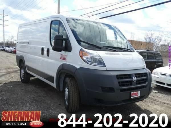 ★Ram ProMaster Cargo Van, only 7 miles!★
