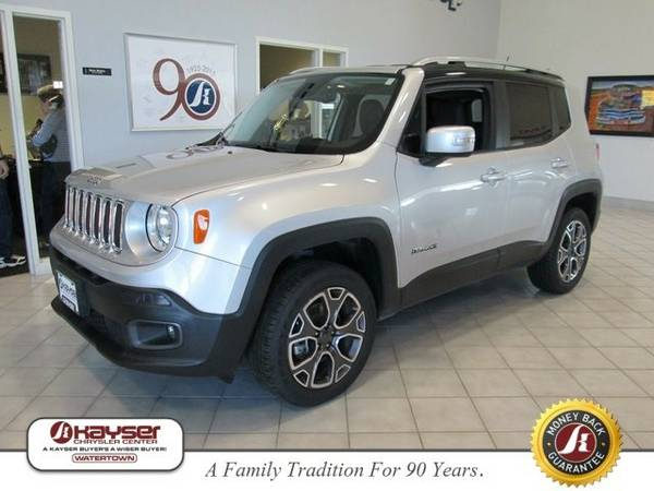 2016 Jeep Renegade Limited SUV Renegade Jeep
