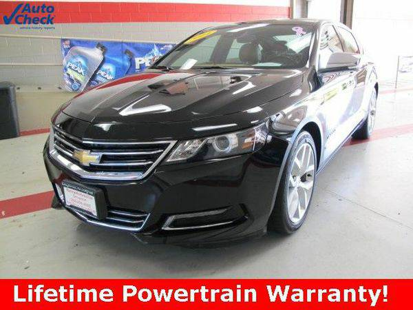 2014 *Chevrolet* *Impala* 2LZ Leroy Butler Lifetime Powertrain