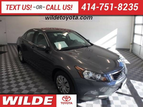 2009 Honda Accord 4dr I4 Auto LX Sedan Accord Honda