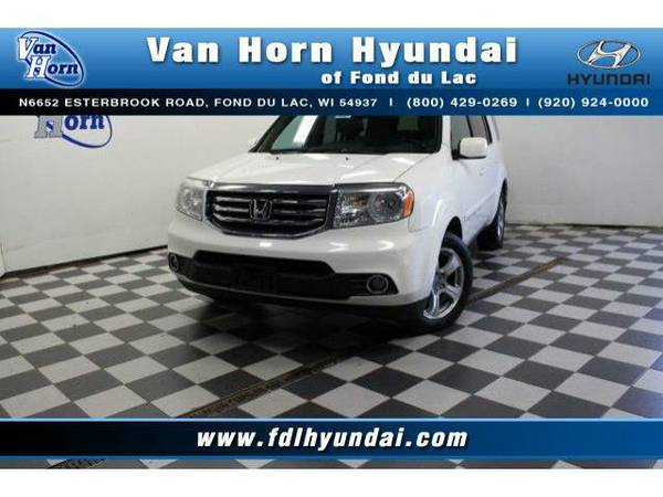 2014 *Honda Pilot* 4x4 EX-L - Honda-Financing for Everyone
