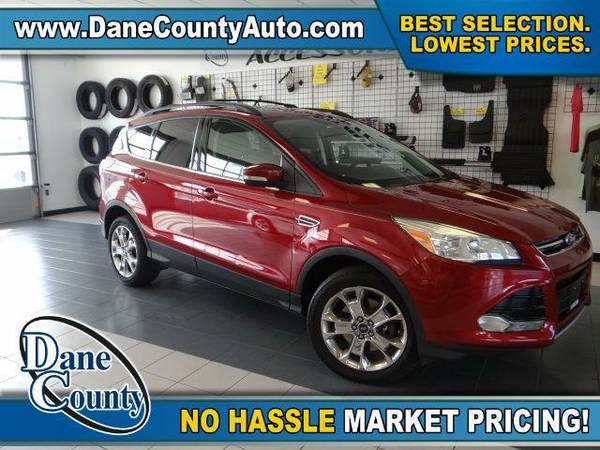 2013 *Ford Escape* SEL - Ford Ruby Red Tinted Clearcoat