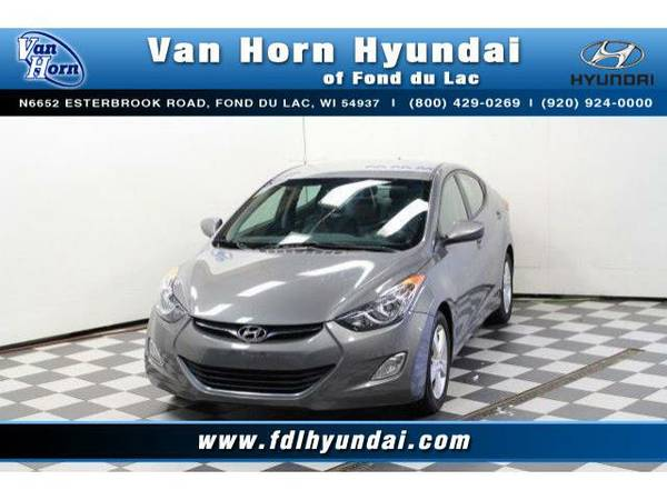 2013 *Hyundai Elantra* GLS - Hyundai-Financing for Everyone