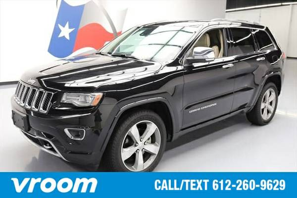 2014 Jeep Grand Cherokee Overland 4dr SUV SUV 7 DAY RETURN / 3000 CARS