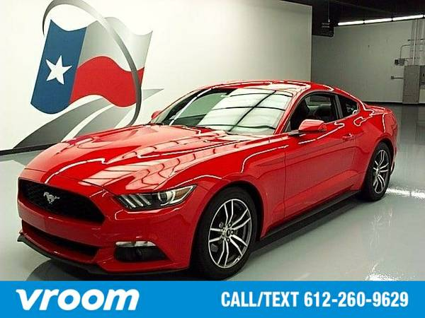 2015 Ford Mustang EcoBoost 7 DAY RETURN / 3000 CARS IN STOCK
