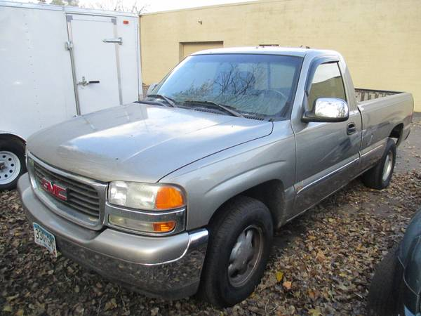 2000 GMC Sierra 1500 Reg. Cab. Long Box