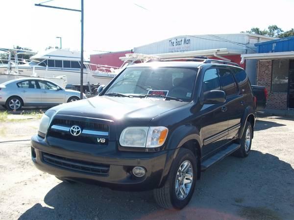 TOYOTA SEQUOIA 2006 V8 SR5 $9995.00