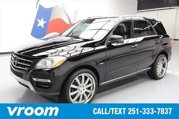 2012 Mercedes-Benz M-Class ML350 4MATIC® 7 DAY RETURN / 3000...