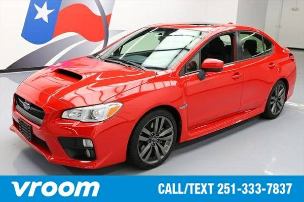 2016 Subaru WRX 7 DAY RETURN / 3000 CARS IN STOCK