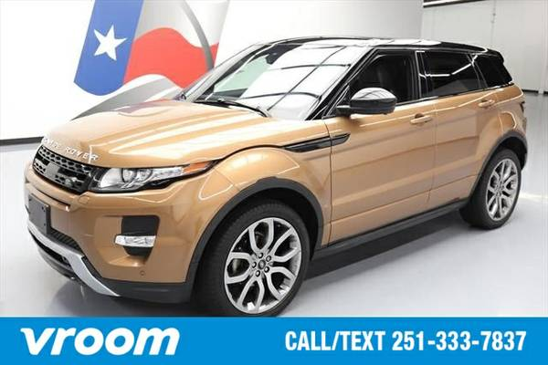2015 Land Rover Range Rover Evoque DYNAMIC 7 DAY RETURN / 3000 CARS IN
