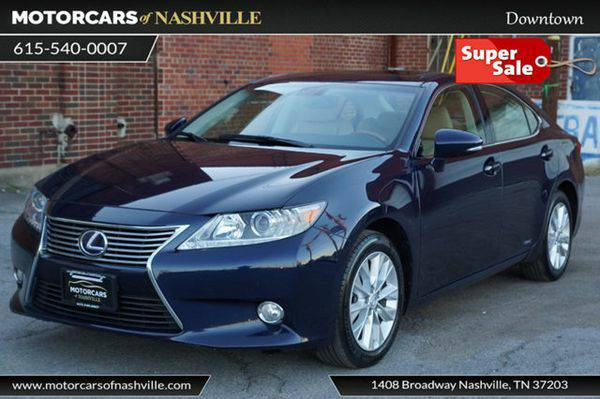 2013 *Lexus* *ES* *300h* 4dr Sedan Hybrid CARFAX CERTIFIED *WE FINANCE