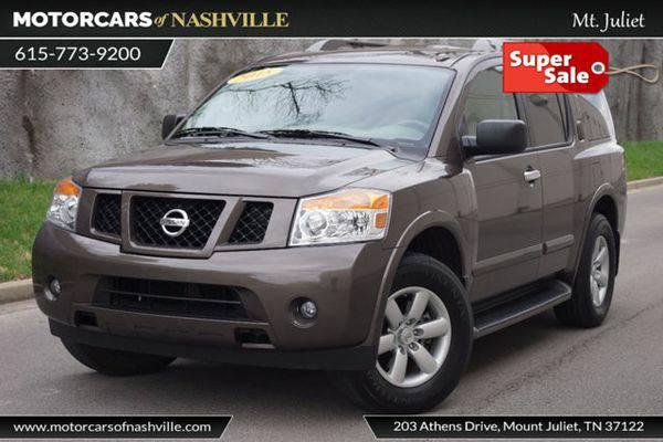 2015 *Nissan* *Armada* 4WD 4dr SV Carfax Certified HUGE SALE *BEST DEA