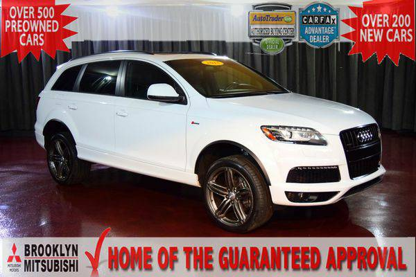 2014 *Audi* *Q7* 3.0T S line Prestige 🚀GUARANTEED APPROVAL