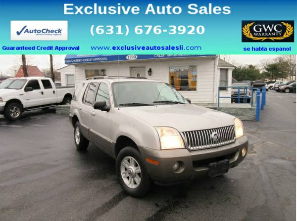 2004 Mercury Mountaineer 4dr 114 WB Luxury AWD
