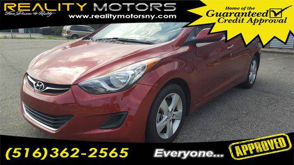 2013 *Hyundai* *Elantra* 4dr Sdn Auto GLS GOOD CREDIT BAD CREDIT NO CR