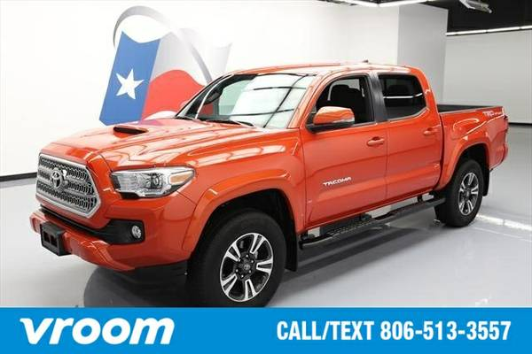 2016 Toyota Tacoma 4x2 TRD Sport 4dr Double Cab 5.0 ft SB Truck 7 DAY
