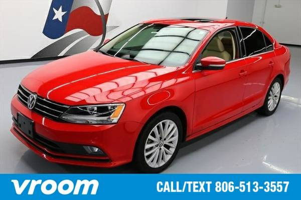 2015 Volkswagen Jetta SE 4dr Sedan 6A w/Connectivity and Navigation Se