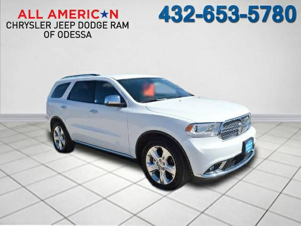 2015 DODGE DURANGO SXT only 5,886 miles