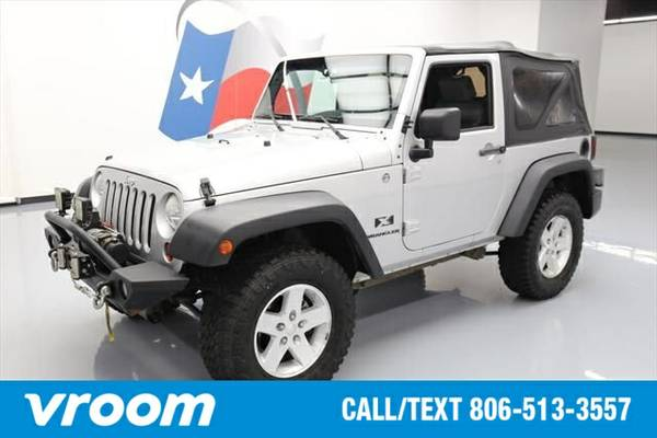 2009 Jeep Wrangler X 7 DAY RETURN / 3000 CARS IN STOCK