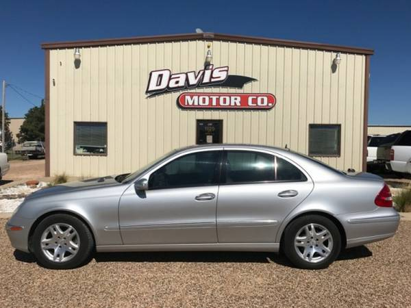 2005 Mercedes-Benz E-Class CDI Turbo Diesel NAV Sunroof Sport Seats...