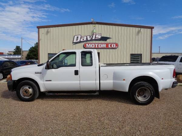2006 Ford Super Duty F-350 Super Cab Dually Turbo Diesel Runs Strong