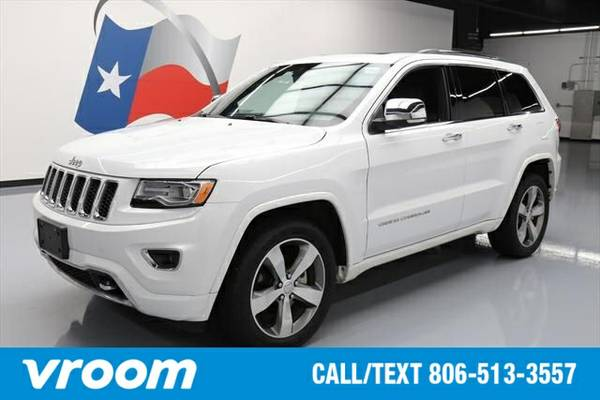 2015 Jeep Grand Cherokee Overland 7 DAY RETURN / 3000 CARS IN STOCK