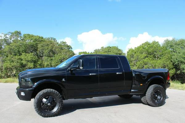 2012 DODGE RAM 3500 LIMITED MEGA CAB-ONLY 90K!! SUNROOF/NAV-CALL NOW!!