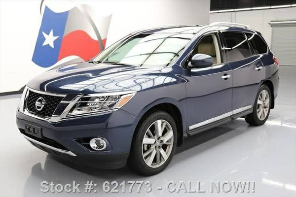 2013 Nissan Pathfinder Platinum 4dr SUV SUV 7 DAY RETURN / 3000 CARS I