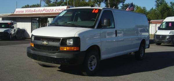 2016 CHEVROLET EXPRESS G-2500 EXTENDED 155 WB CARGO VAN