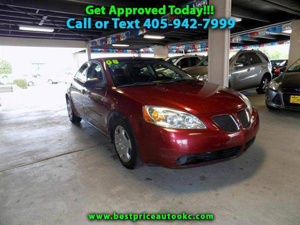 2008 *Pontiac* *G6* 1SV Sedan - Call or Text! Financing Available