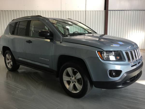 2014 JEEP COMPASS*AUTOMATIC*CLOTH*ALLOY WHEELS*LIGHT BLUE*GAS SAVER!!