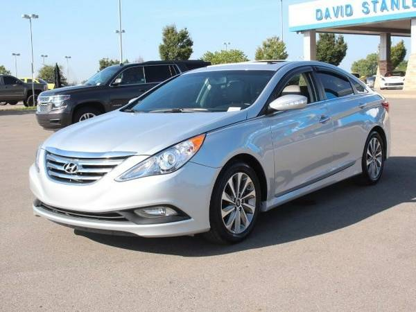 2014 HYUNDAI SONATA LIMITED 2.0T~ SUNROOF~ LEATHER~ $271/MONTH