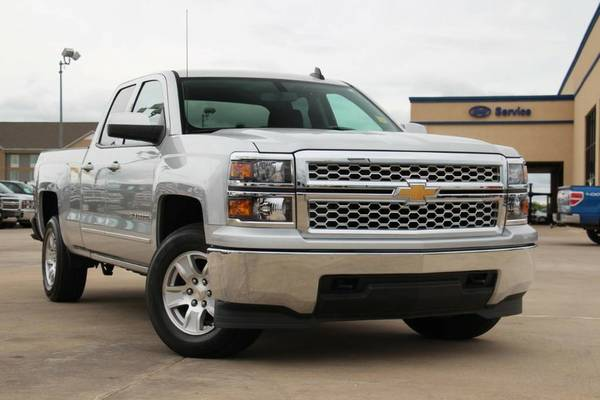 2015 CHEVY SILVERADO 1500 LT!! 4-WHEEL DRIVE!!