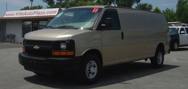 2011 Chevrolet Express G-3500 155 WB Extended Cargo Van 82k miles.