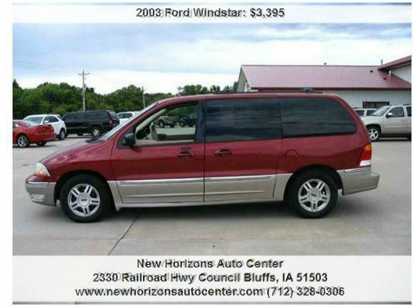 2003 Ford Windstar SEL 4dr Mini Van Auto(CLEARANCE SALE)