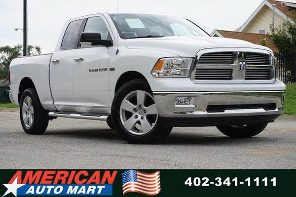 2012 DODGE RAM 1500 QUAD SLT 4X4**ONLY 85K**NEW TIRES**HEMI**VERY NICE