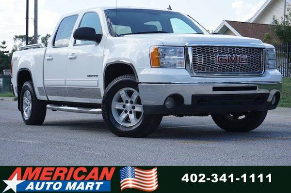 2010 GMC SIERRA SLT CREW 4X4**6.2L V8**LEATHER**REAR CAMERA**NICE**