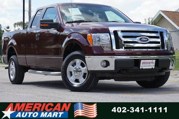 2010 FORD F-150 XLT EXT CAB 4X4**ONLY 67K**V8**1-OWN**NICE**