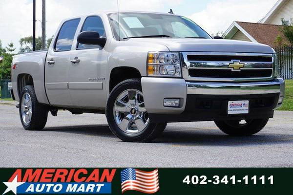 2008 CHEVROLET SILVERADO LT Z-71 CREW 4X4**ONLY 76K**NEW TIRES**NICE**