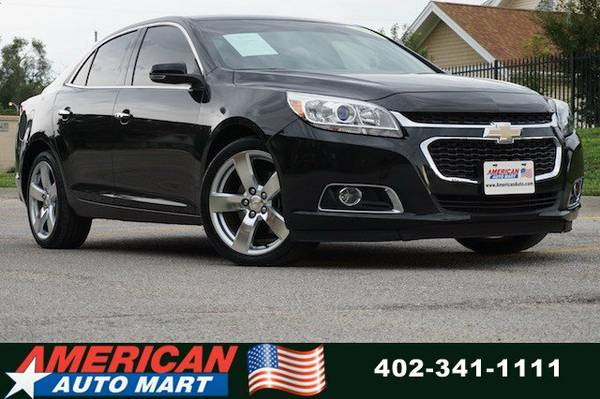 2014 CHEVROLET MALIBU LTZ**2.0L TURBO**PWR ROOF**CLN CARFAX**NEW TIRES