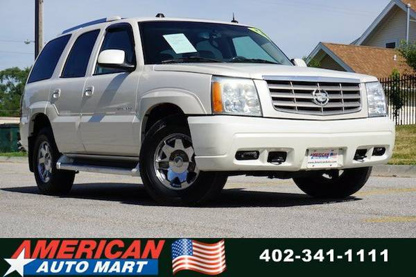 2004 CADILLAC ESCALADE AWD**ONLY 114K**PWR ROOF**1-OWNER**VERY NICE**