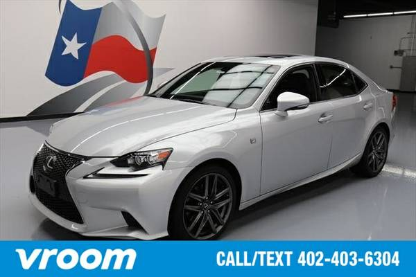 2015 Lexus IS 250 7 DAY RETURN / 3000 CARS IN STOCK