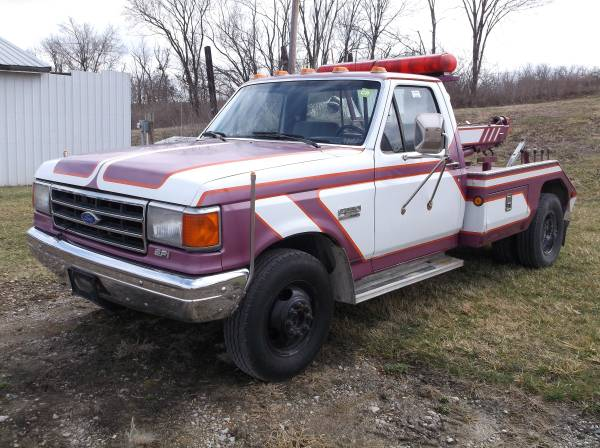 1991 FORD F350** TOW TRUCK**