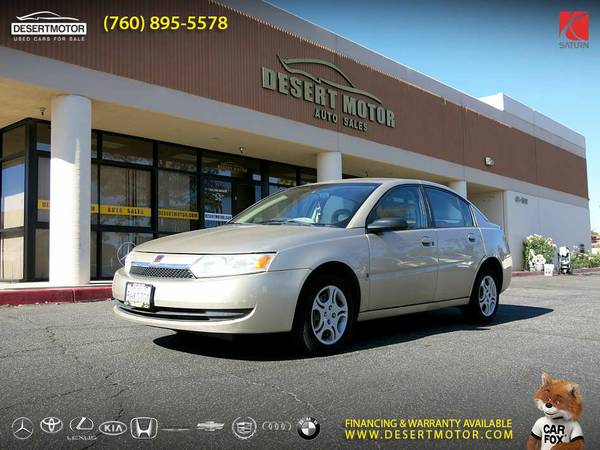 2004 Saturn Ion ION 2 Sedan in EXCELLENT Condition