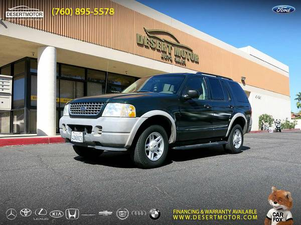 2002 Ford Explorer XLS SUV 69,000 Miles- Unbelievably Priced...