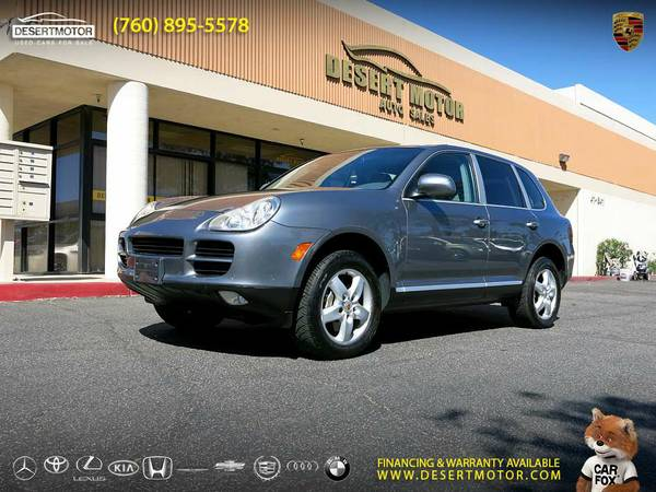 This 2004 Porsche Cayenne S 84,000 MILES SUV is PRICED TO SELL!