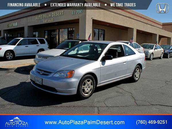This 2002 Honda Civic LX Coupe is VERY CLEAN!